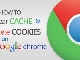 How To Clear Chrome Cache