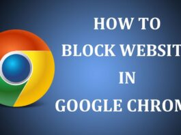 How To Block Certain Websites In Chrome Permanently