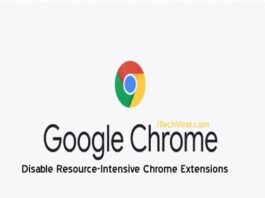 Disable Resource-Intensive Chrome Extensions